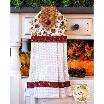 Hanging Towel Kit - Hello Fall - Cream