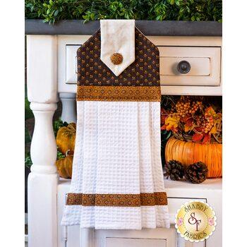 Hanging Towel Kit - Hello Fall - Brown