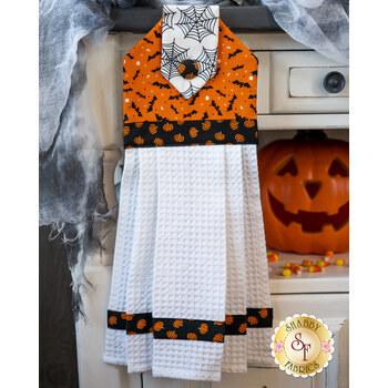 Hanging Towel Kit - Holiday Essentials - Halloween - Orange