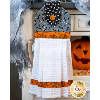 Hanging Towel Kit - Holiday Essentials - Halloween - Gray