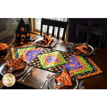 Quilt As You Go - Morning Blend Table Runner Kit - Here We Glow