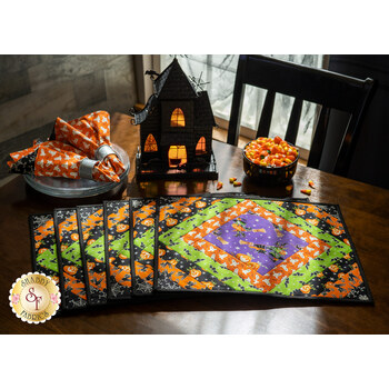 Quilt As You Go Casablanca Placemats Kit - Here We Glow - Makes 6