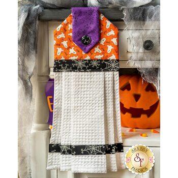 Hanging Towel Kit - Here We Glow - Orange