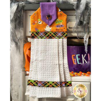 Hanging Towel Kit - Glow Ghosts - Orange
