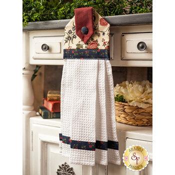 Hanging Towel Kit - Prairie Dreams - Cream