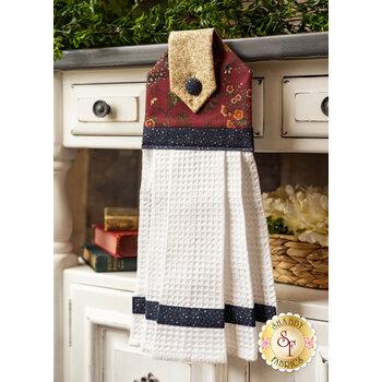 Hanging Towel Kit - Prairie Dreams - Red