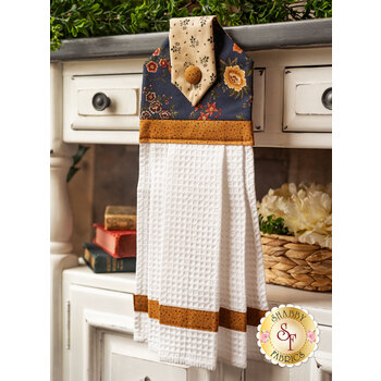 Hanging Towel Kit - Prairie Dreams - Navy