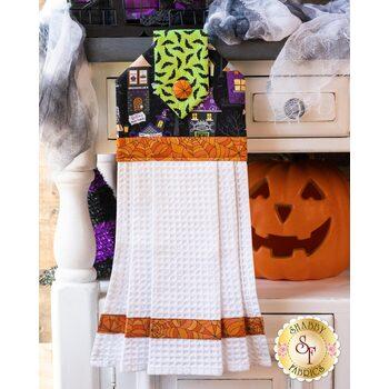 Hanging Towel Kit - Hometown Halloween - Houses