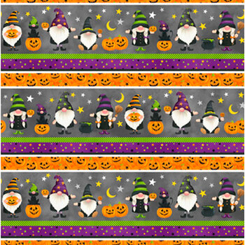 Gnomes Night Out 24661-95 by Northcott Fabrics