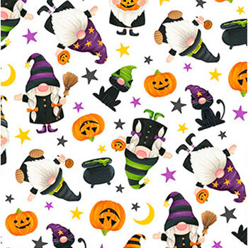 Gnomes Night Out 24662-10 by Northcott Fabrics