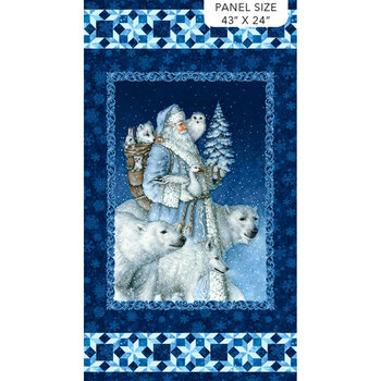 Father Christmas DP24690-48 by Northcott Fabrics