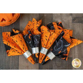 Cloth Napkins Kit - Midnight Haunt