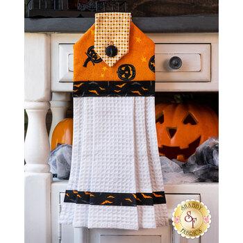 Hanging Towel Kit - Midnight Haunt - Orange