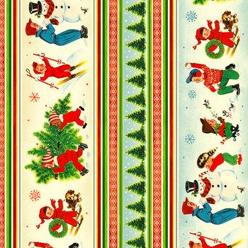 Vintage Christmas DCX10389-MULT-D by Michael Miller Fabrics