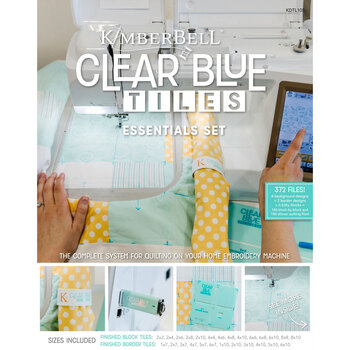 Clear Blue Tiles Essentials Set by Kimberbell