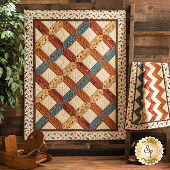 Home and Away Quilt Kit - Home on the Range - Makes Two Quilts