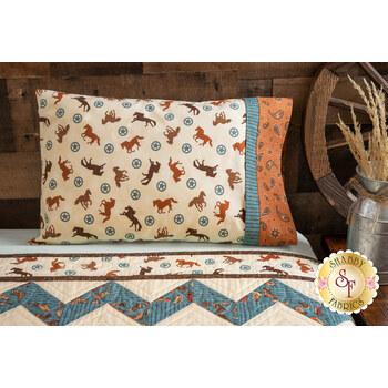Magic Pillowcase Kit - Home on the Range - Travel Size - Cream