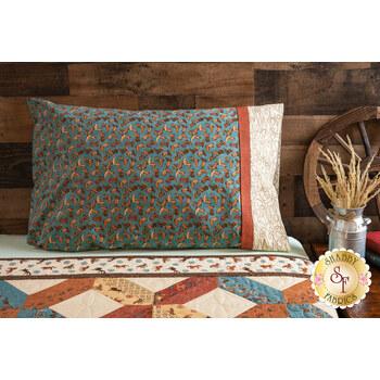 Magic Pillowcase Kit - Home on the Range - Standard Size - Teal