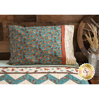Magic Pillowcase Kit - Home on the Range - Travel Size - Teal
