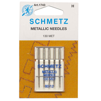 Schmetz Metallic Needles - Size 80/12 5ct