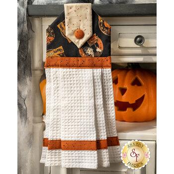 Hanging Towel Kit - Retro Halloween - Black