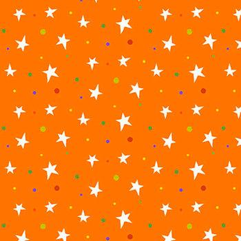 Boo! Glow In The Dark 248G-33 Orange by Henry Glass Fabrics