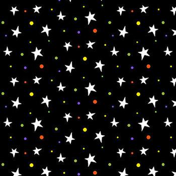 Boo! Glow In The Dark 248G-99 Black by Henry Glass Fabrics