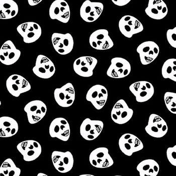 Boo! Glow In The Dark 250G-99 Black by Henry Glass Fabrics