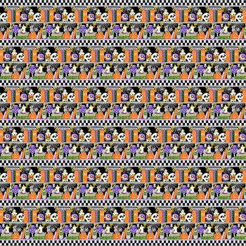 Boo! Glow In The Dark 253G-93 Multi by Henry Glass Fabrics