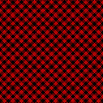 Timber Gnomies Tree Farm 304-89 Red by Henry Glass Fabrics