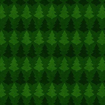 Timber Gnomies Tree Farm 309-66 Green by Henry Glass Fabrics