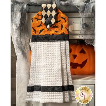 Hanging Towel Kit - Black Cat Capers - Orange