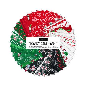 Candy Cane Lane  Mini Charm Pack by Moda Fabrics