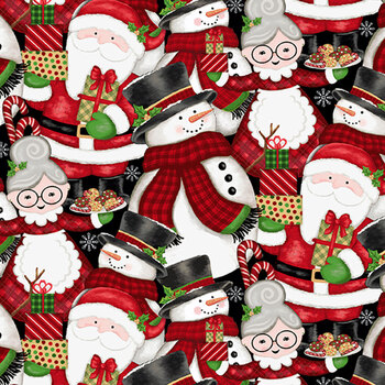 Merry Town 6361-89 Multi by Sharla Fults for Studio E Fabrics