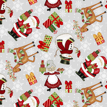 Merry Town 6363-89 Multi by Sharla Fults for Studio E Fabrics