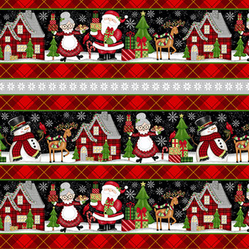 Merry Town 6373-89 Multi by Sharla Fults for Studio E Fabrics
