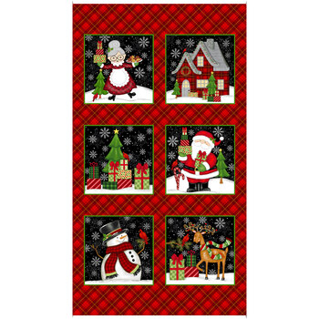 Merry Town 6379-89 Multi Panel by Sharla Fults for Studio E Fabrics