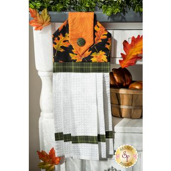 Hanging Towel Kit - Autumn Elegance - Black