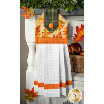 Hanging Towel Kit - Autumn Elegance - Tan