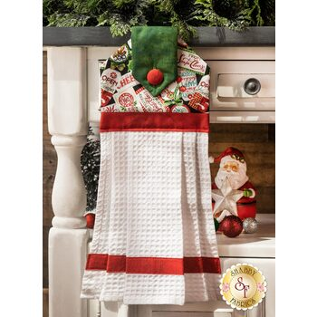 Hanging Towel Kit - All That Glitters is Snow - Gift Tags