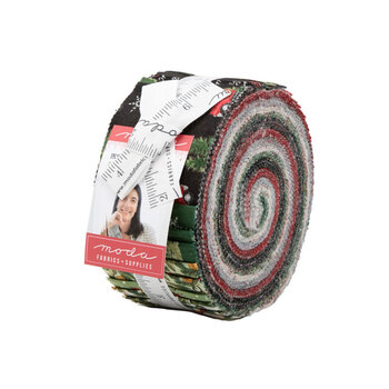 Homegrown Holidays  Jelly Roll by Deb Strain for Moda Fabrics