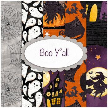 Boo Y'all  Yardage by 3 Wishes Fabric