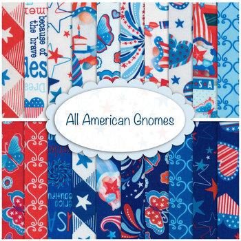 All American Gnomes  Yardage by Kanvas Studio