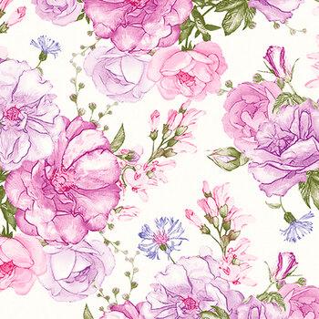 Judy's Bloom 13550-62 Lavender by Benartex