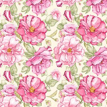 Judy's Bloom 13551-26 Rose by Benartex