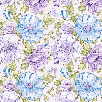 Judy's Bloom 13551-50 Blue by Benartex