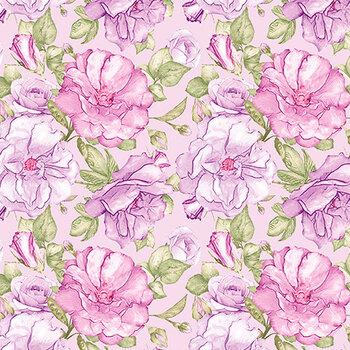 Judy's Bloom 13551-62 Lavender by Benartex