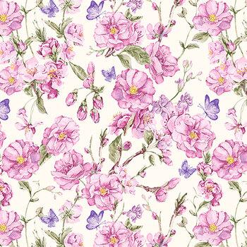 Judy's Bloom 13552-62 Lavender by Benartex