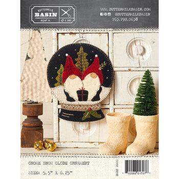 Gnome Snow Globe Ornament Pattern