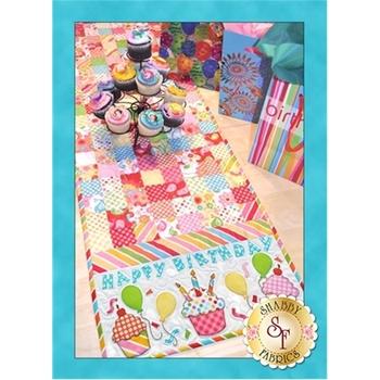 Happy Birthday Table Runner Pattern